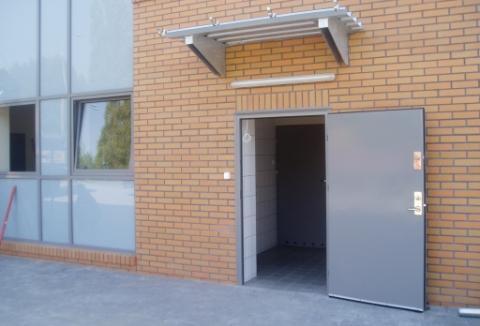 Metalowe drzwi zewnętrzne